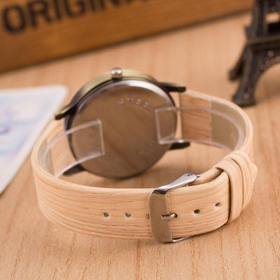 Lux Wood Grain Watch Watch