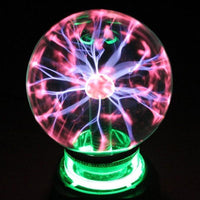 Magic LED Crystal Plasma Sphere 3 Inch LED Lamp