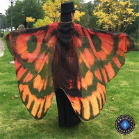 Mariposa Wings Beach Shawl Red Tapestry