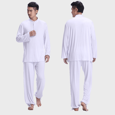Men's Spandex Meditation 2-Piece Set Clothing