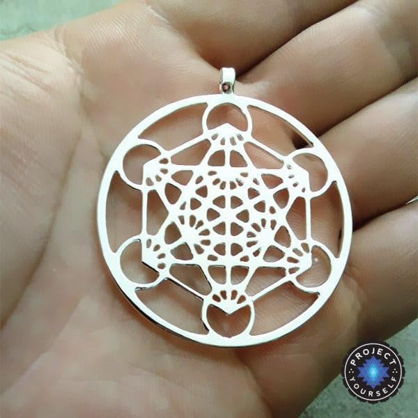 Metatrons cube pendant necklace project yourself metatrons cube pendant necklace necklace aloadofball Gallery