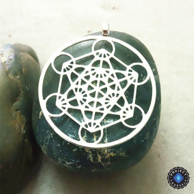 Metatron's Cube Pendant Necklace Necklace