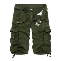 Military Cargo Shorts Army Green / 29 Men's Wear