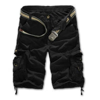 Military Cargo Shorts Black / 29 Men's Wear