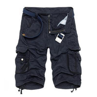 Military Cargo Shorts Deep Blue / 29 Men's Wear