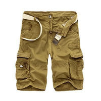 Military Cargo Shorts Khaki / 29 Men's Wear