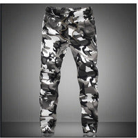 Military Joggers Men White / M Men's Wear