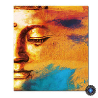 Modern Abstract Sunset Buddha Canvas Painting Size 1 Painting