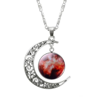 Moon Galaxy Necklace Style 3 Necklace