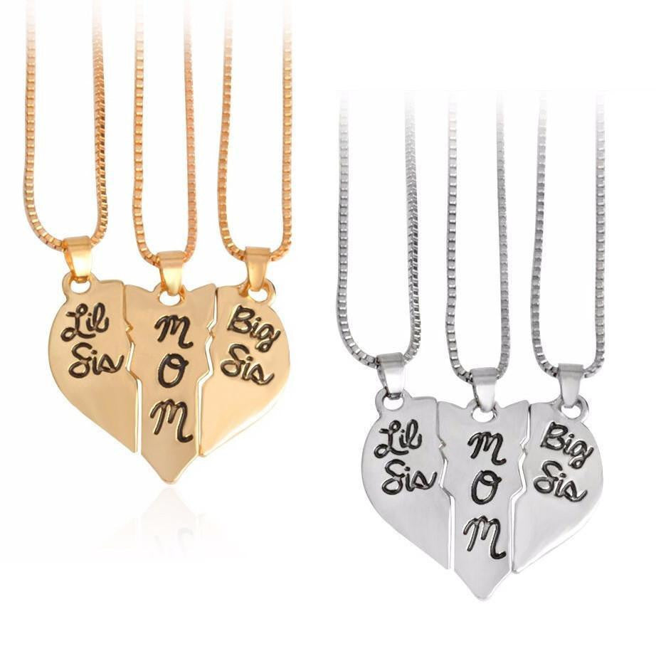 double puzzle en necklaces necklace