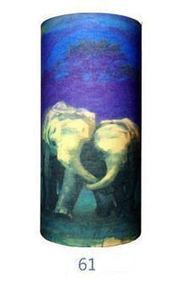 Multifunctional Seamless Bandana Elephants Bandana