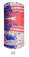 Multifunctional Seamless Bandana July 4 Independence Day Bandana