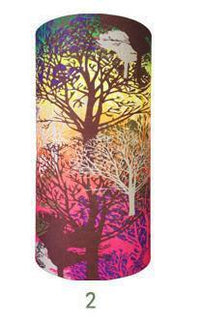 Multifunctional Seamless Bandana Multicolor Trees Bandana