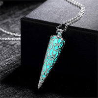 Mystical Glowing Pendulum Pendant Necklace Necklace