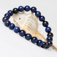 Natural Blue Tiger Eye Bracelet Bracelet