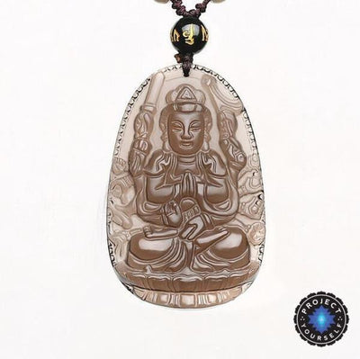 Natural ice obsidian 8 patron buddha pendant necklace project yourself natural ice obsidian 8 patron buddha pendant necklace necklace aloadofball Image collections