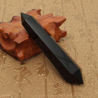 Natural Obsidian Double Terminated Healing Wand Crystals