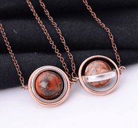 Natural Stone Planets Necklace Necklaces