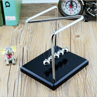 Newtons Cradle Steel Balls Z Style Pendulum Perpetual Motion