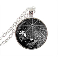 Nikola Tesla Inspirational Necklace Silver 2 Necklaces