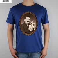 Nikola Tesla Modern Shirts Men Blue / S