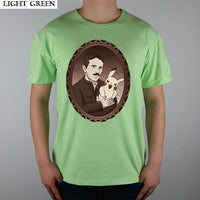 Nikola Tesla Modern Shirts Men Light Green / S