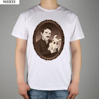 Nikola Tesla Modern Shirts Men White / S