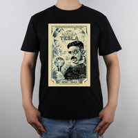 Nikola Tesla Shirt Men Black / S Shirts