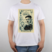 Nikola Tesla Shirt Men White / S Shirts