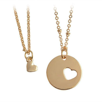 Piece of My Heart Pendant Necklace Set Necklace