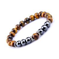 Power and Protection Tiger Eye Hematite Bracelet Bracelet