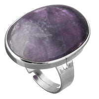 Powerful Gemstone Ring Amethyst Rings