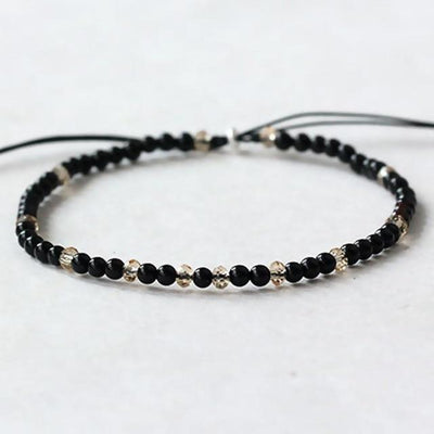 Powerful Mini Gemstone Bracelet Black Onyx Bracelet