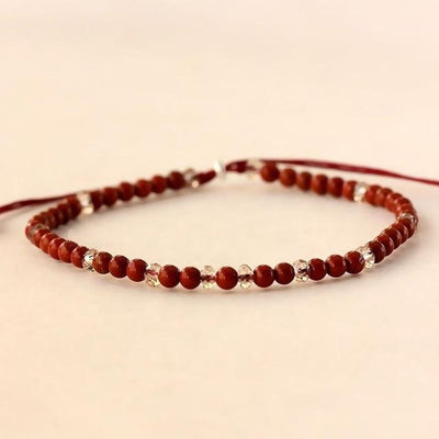 Powerful Mini Gemstone Bracelet Red Onyx Bracelet
