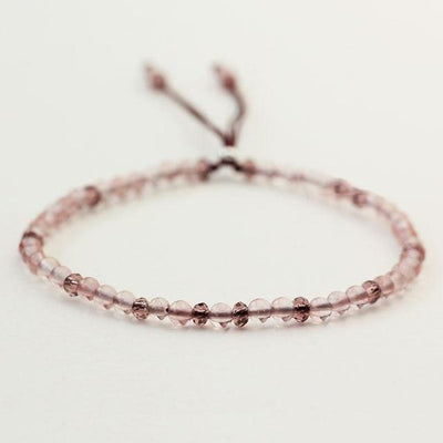 Powerful Mini Gemstone Bracelet Rose Quartz Bracelet