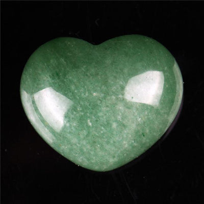 Powerful Reiki Heart Stone Green Aventurine Crystals