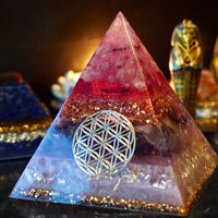 Energy Converter and Generator Orgone Pyramid