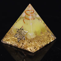 Wealth and Prosperity Ceregat Orgonite Pyramid