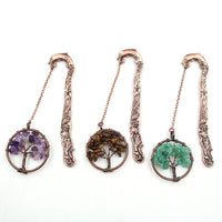 Vintage Tree of Life Charm Bookmark