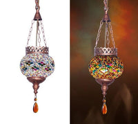 Mosaic Moroccan Pendant Light