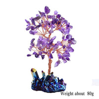 Healing Amethyst Lucky Crystal Tree