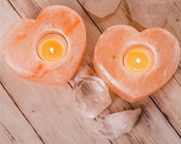 Relaxing Himalayan Salt Candle Holder