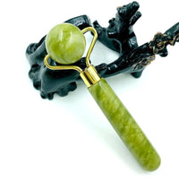 Natural Jade Guasha Massage Roller