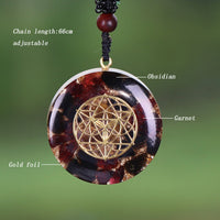 Seed Of Creation Orgonite Necklace