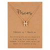 12 Celestial Zodiac Necklaces