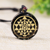 Black Obsidian Orgone Protection Necklace