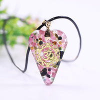EMF Protection Tourmaline Orgonite Necklace