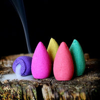 Mixed Aroma Backflow Incense Cone Pack