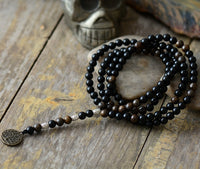 Black Agate Grounding Necklace