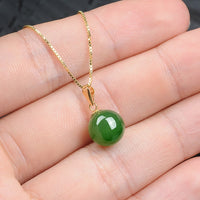 Green Jade Purity Necklace